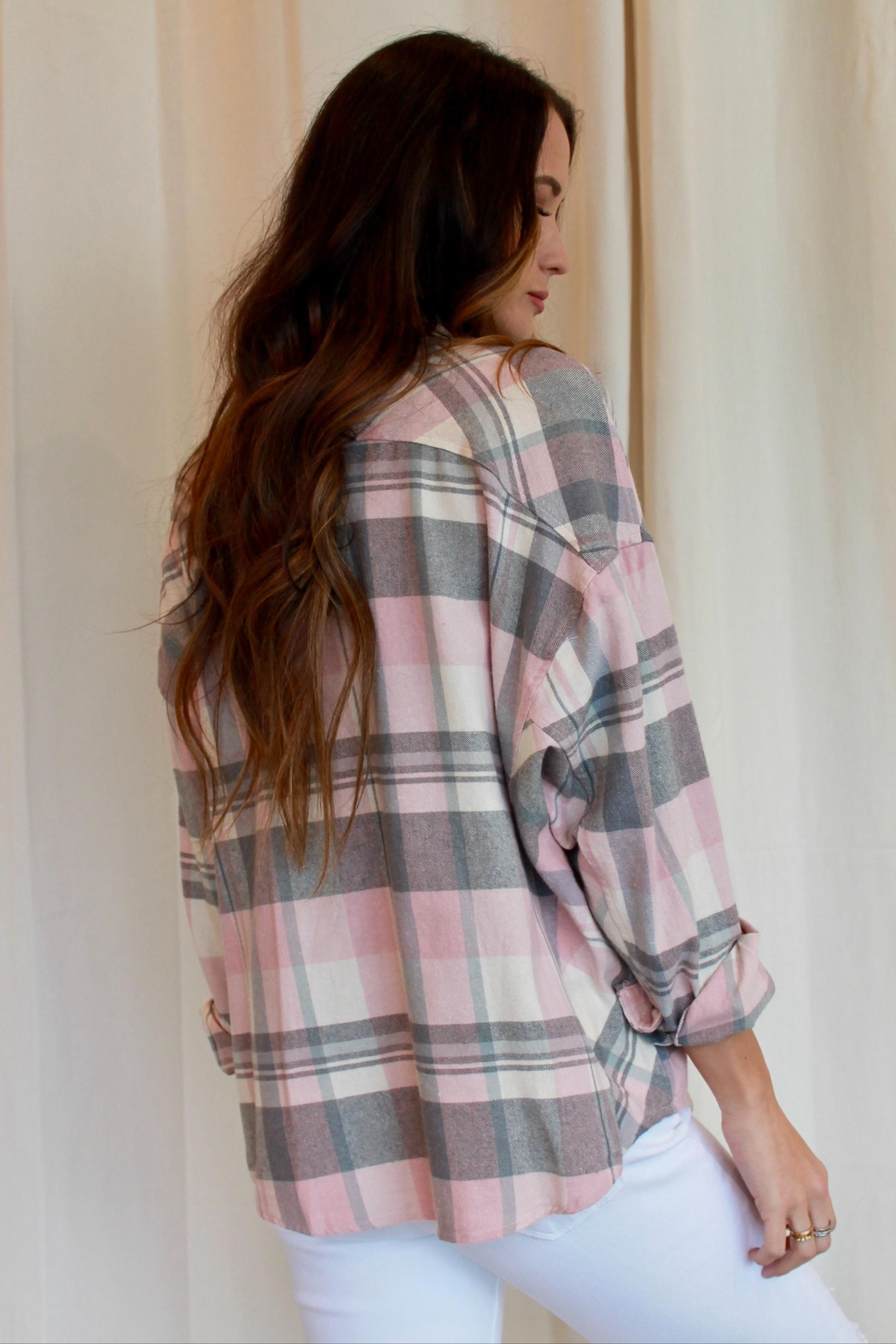 By Together Jordache Flannel - Side Cropped Image