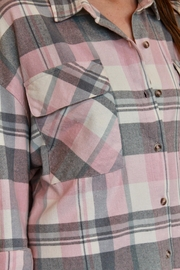 By Together Jordache Flannel - Back cropped