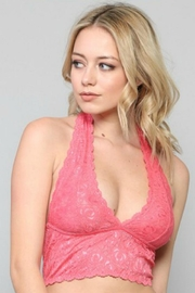 By Together Lace Halter Bralette - Product Mini Image