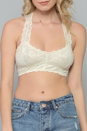By Together Lace Racerback Bralette - Product Mini Image