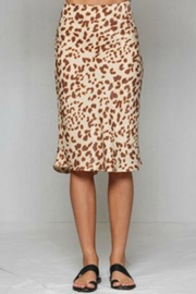 By Together Leopard Skirt - Product Mini Image