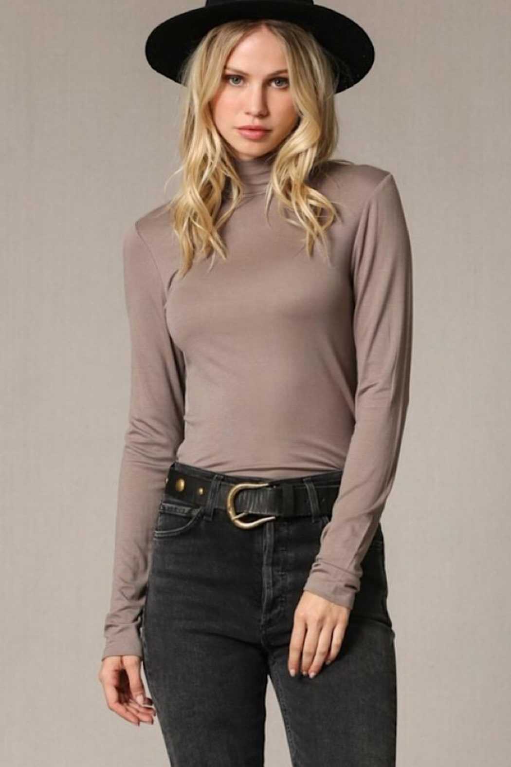 By Together Long Sleeve Top - Front Cropped Image