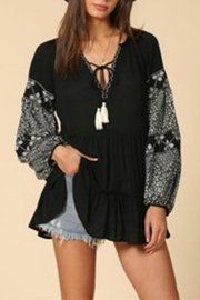 By Together Long Sleeve Tunic - Front full body
