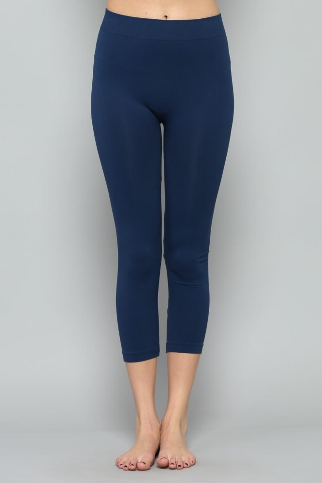 By Together Navy Cropped Legging - Main Image
