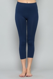 By Together Navy Cropped Legging - Product Mini Image