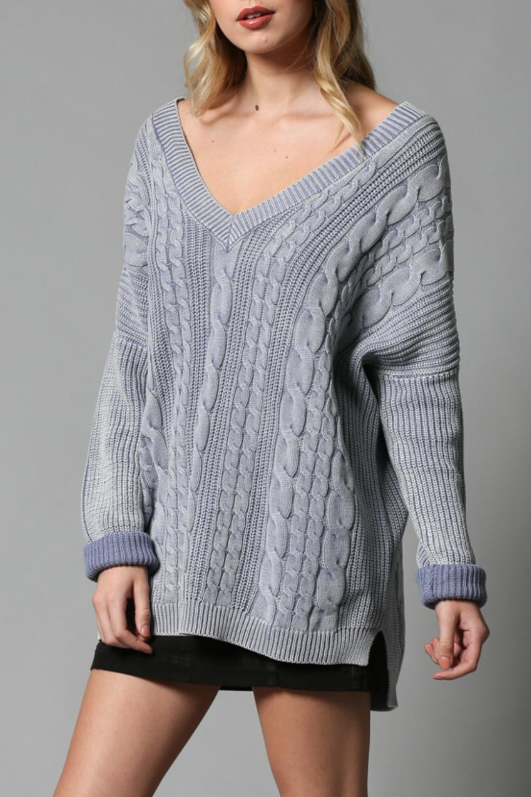 By Together Open Back Sweater - Main Image