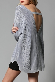 By Together Open Back Sweater - Front full body