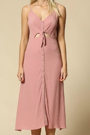By Together Pink Tie Front - Side cropped