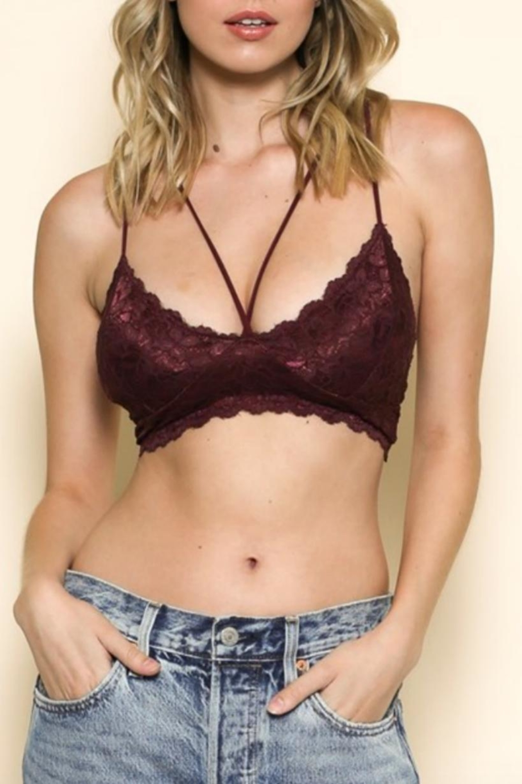 fd6c00d391 By Together Strappy Lace Bralette from Kansas by Seirer s Clothing ...