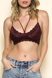 By Together Strappy Lace Bralette - Product Mini Image