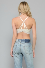 By Together Strappy Lace Bralette - Side cropped