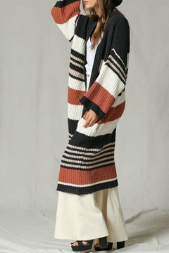 By Together Striped Cardi Duster - Alternate List Image