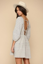 By Together Striped Gauze Dress - Front full body