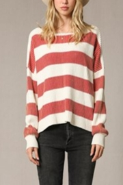 By Together Striped Knitted Sweater - Product Mini Image