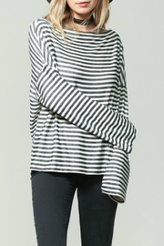 By Together Striped Longsleeve Top - Product Mini Image