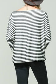 By Together Striped Longsleeve Top - Front full body
