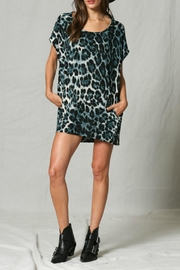 By Together Teal Leopard Tunic - Product Mini Image