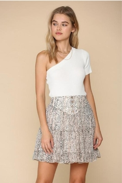 By Together Tiered Floral Skirt - Product List Image
