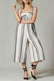 By Together Twist Cropped Jumpsuit - Product Mini Image