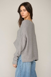 By Together V-Neck Knit Sweater - Side cropped