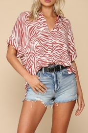 By Together Wanderer Zebra Print - Front full body