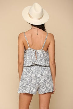 By Together Woven Stripe Romper - Alternate List Image