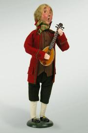 Byers Choice  Colonial Musical Performer - Product Mini Image