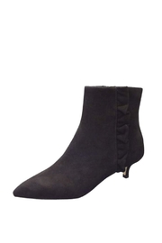 Sesto Meucci Byrle Black Suede - Front cropped