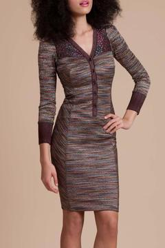 Shoptiques Product: Fitted Multi Dress