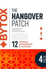Bytox Hangover Patches - S/4 in Resealable Pouch - Product Mini Image