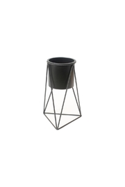 C. J. Marketing Ltd. Black Triangular Planter - Product Mini Image