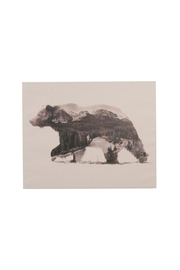 C. J. Marketing Ltd. Forest Bear Canvas - Product Mini Image