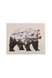 C. J. Marketing Ltd. Mountain Bear Canvas - Product Mini Image