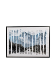 C. J. Marketing Ltd. Road-To-Mountains Framed Picture - Product Mini Image