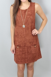 C. Luce Rikki Suede Dress - Product Mini Image