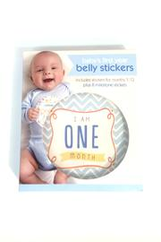 C R Gibson Boy Belly Stickers - Product Mini Image