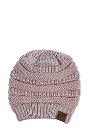 C.C. Beanie -Blush Silver - Product Mini Image