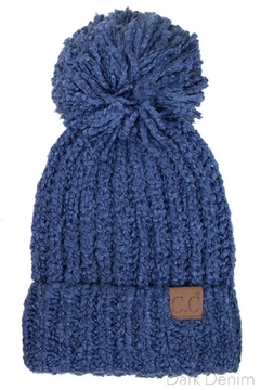 Shoptiques Product: Beanie With Pompom