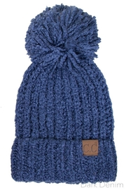 C.C. Beanie With Pompom - Product Mini Image