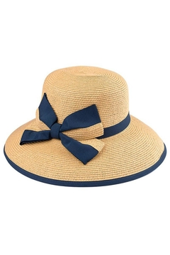 Shoptiques Product: Bow Straw Hat