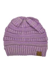 C.C. Purple Beanie - Product Mini Image