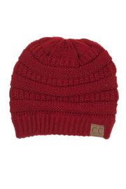 C.C. Red Beanie - Product Mini Image