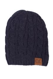 C.C. Cable Knit Beanie - Product Mini Image