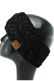 C.C. Confetti Sherpa-Lined Headband - Front cropped