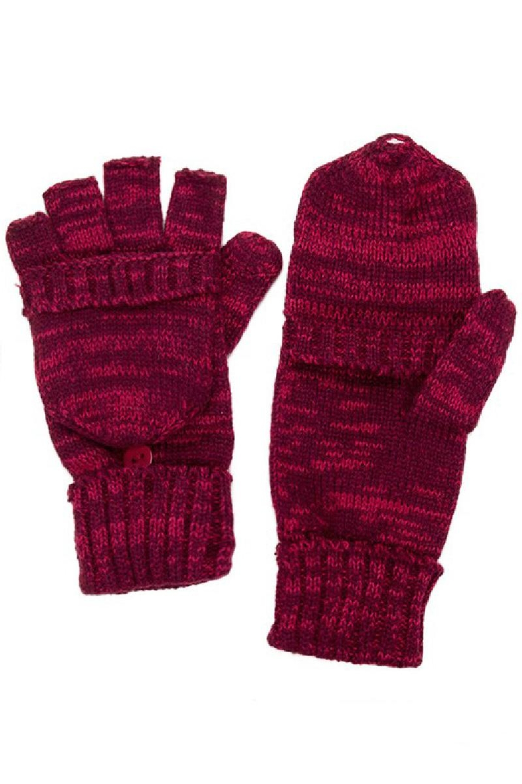 C.C. Convertible Fingerless Gloves - Front Cropped Image