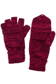 C.C. Convertible Fingerless Gloves - Front cropped