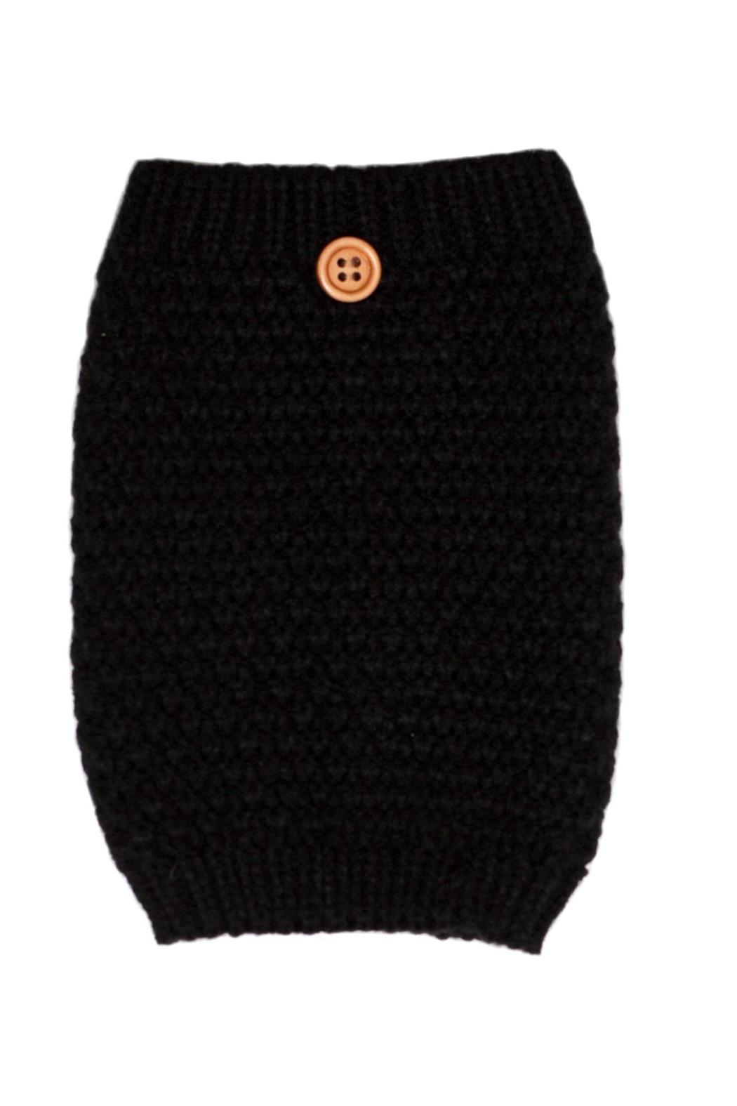 C.C. Knit Boot Cuff - Front Cropped Image