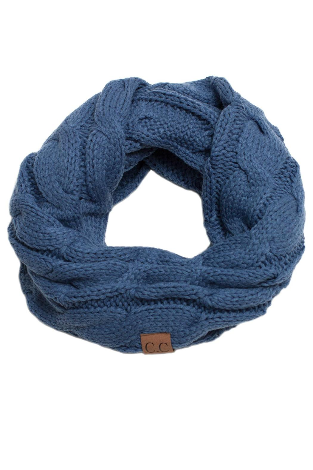 C.C. Knit Infinity Scarf - Main Image