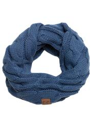 C.C. Knit Infinity Scarf - Product Mini Image