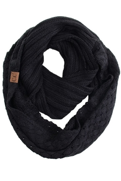 Shoptiques Product: Knitted Basketweaved Scarf